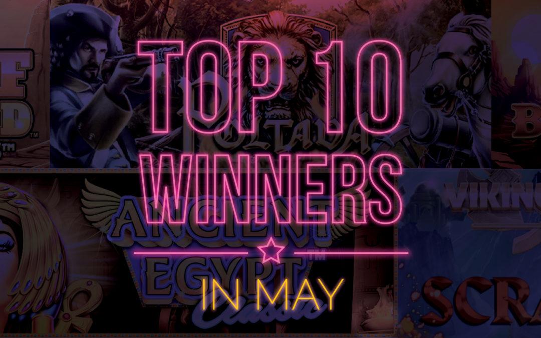 Top 10 Online Slots in May